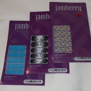 NEW April 2014 Jamberry Hostess Exclusive Dots B&W